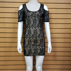Misope Black Fitted Dress
